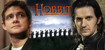 Martin Freeman / The Hobbit / Richard Armitage