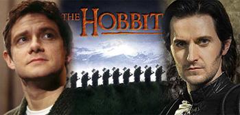 Martin Freeman / The Hobbit / Richard Armitage
