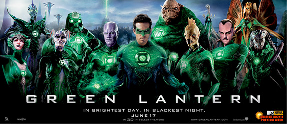 Green Lantern Alien Banner