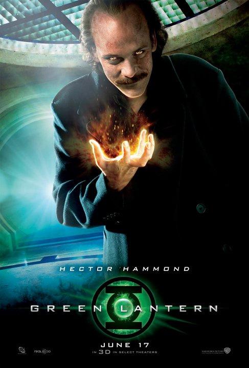 Green Lantern Hector Hammond Poster