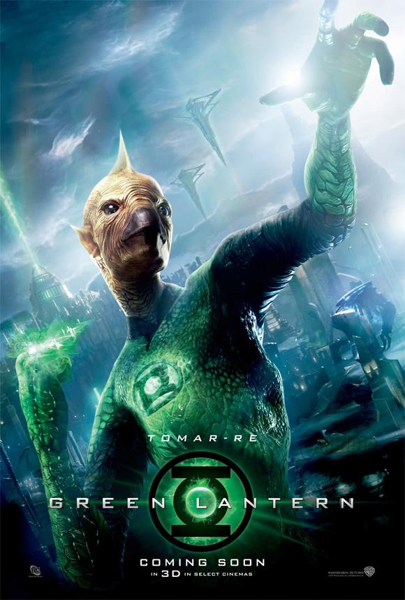 Green Lantern Tomar-Re Poster