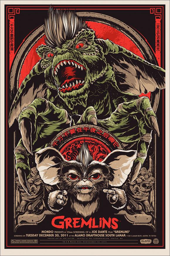 Gremlins - Mondo Poster