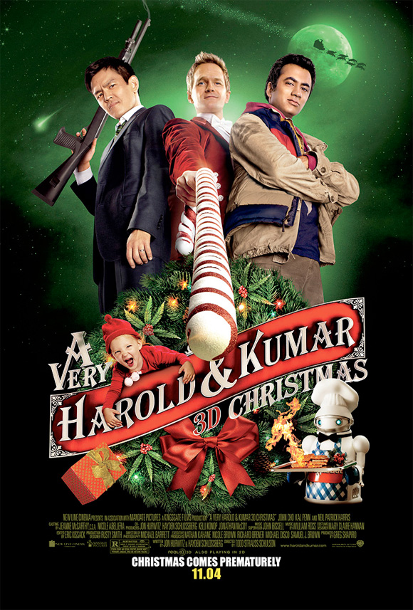 A Very Harold & Kumar Christmas - Final Poster