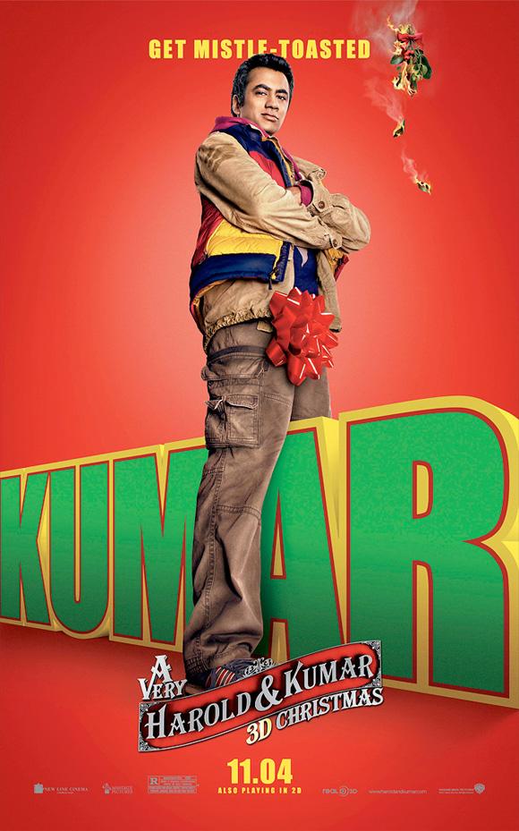 A Very Harold & Kumar Christmas - Kumar Poster