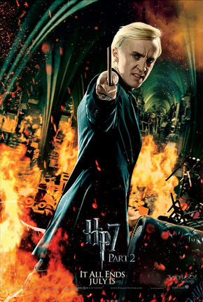 Harry Potter and the Deathly Hallows: Part 2 Poster - Draco