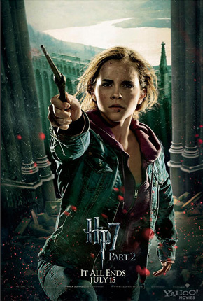 Harry Potter and the Deathly Hallows: Part 2 Poster - Hermione