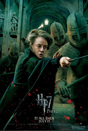 Harry Potter and the Deathly Hallows: Part 2 Poster - Professor McGonagall