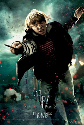 Harry Potter and the Deathly Hallows: Part 2 Poster - Ron