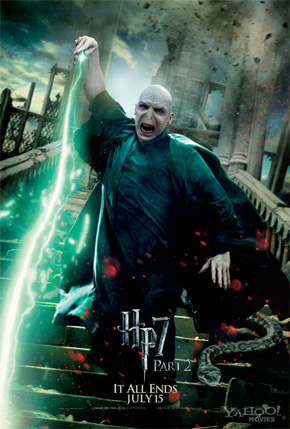 Harry Potter and the Deathly Hallows: Part 2 Poster - Voldemort