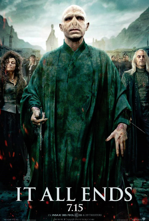 Harry Potter and the Deathly Hallows: Part 2 - Villains Poster