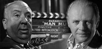 Alfred Hitchcock / Anthony Hopkins