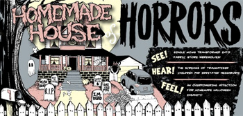 Homemade Haunted House