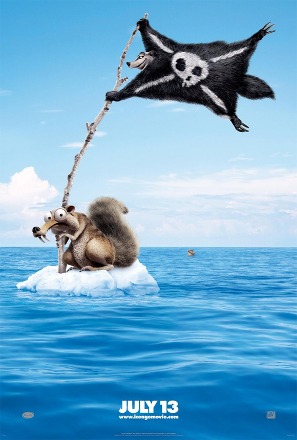 Ice Age: Continental Drift Teaser Poster