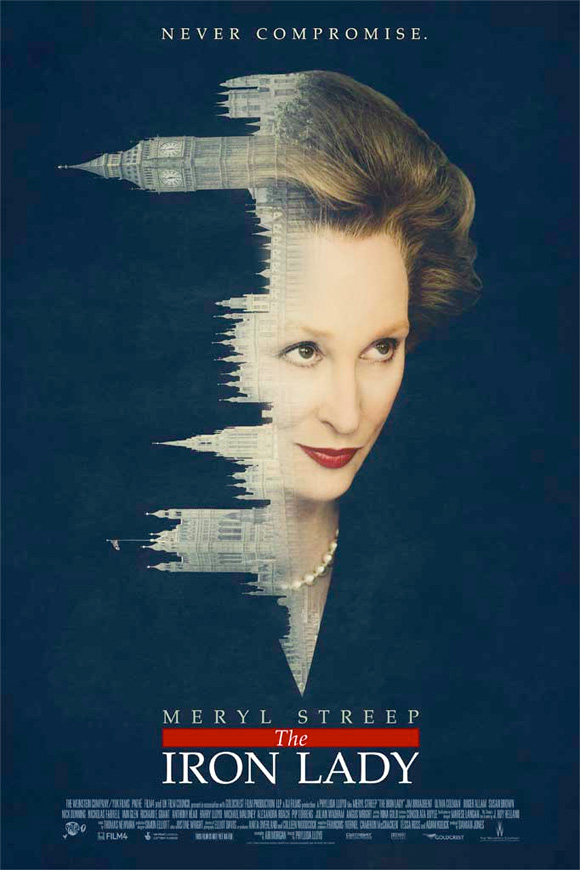 The Iron Lady Teaser Poster