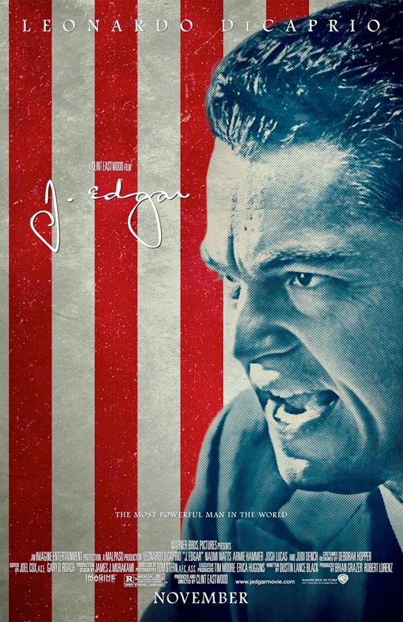 J. Edgar Flag Poster