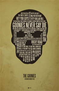 Jerod Gibson's Goonies Poster