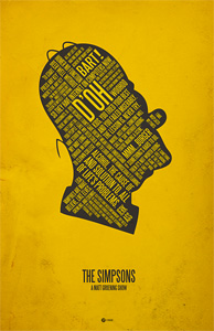 Jerod Gibson's The Simpsons Poster
