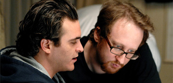Joaquin Phoenix and James Gray