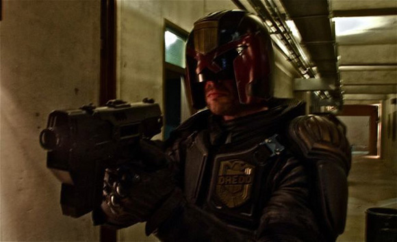First Look Judge Dredd