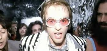 Justin Timberlake as Elton John