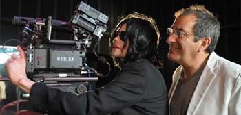 Michael Jackson and Kenny Ortega