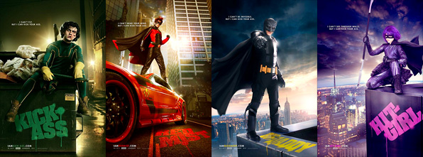 Kick-Ass Character Posters