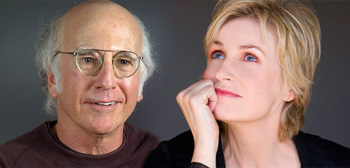 Larry David / Jane Lynch