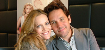 Leslie Mann and Paul Rudd