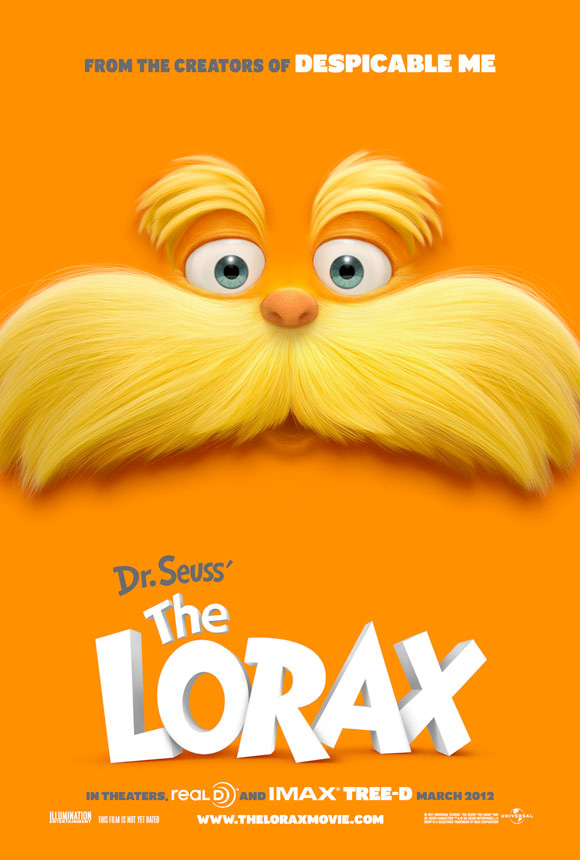 The Lorax Teaser Poster