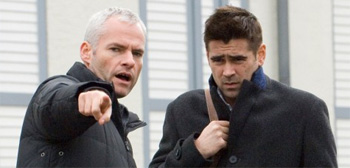 Martin McDonagh and Colin Farrell