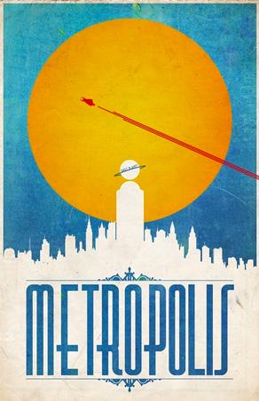 Justin Van Genderen - Travel Poster - Metropolis