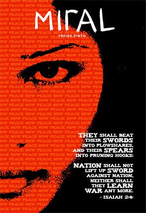 Julian Schnabel's Miral Poster