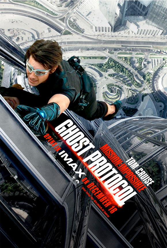 Mission: Impossible - Ghost Protocol IMAX Poster