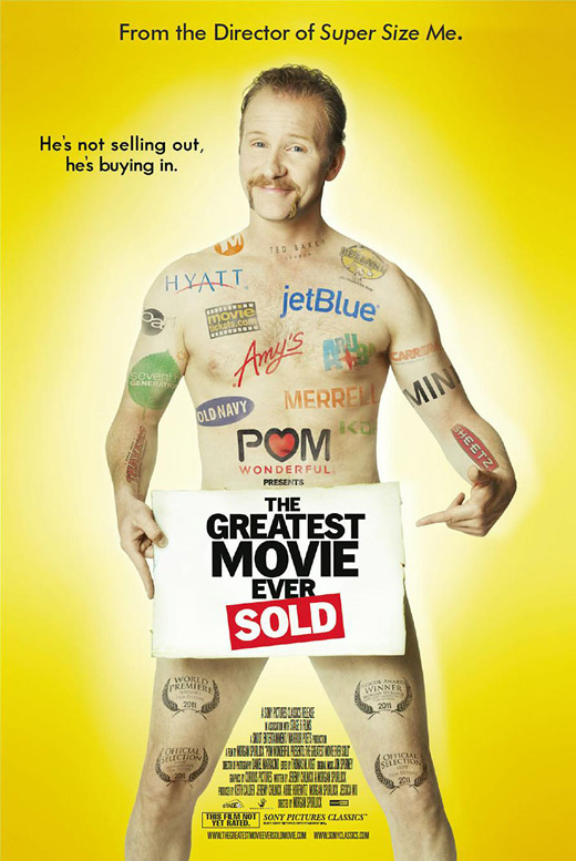 Morgan Spurlock's The Greatest Movie Ever Sold Poster