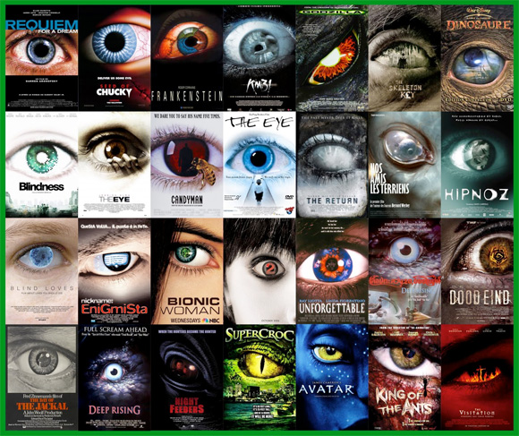 Movie Poster Trends - Eyes