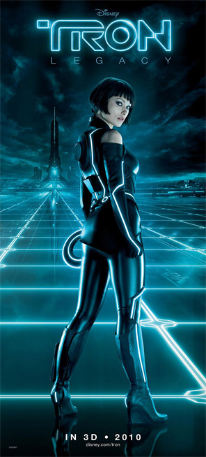 Tron Legacy Banner - Olivia Wilde