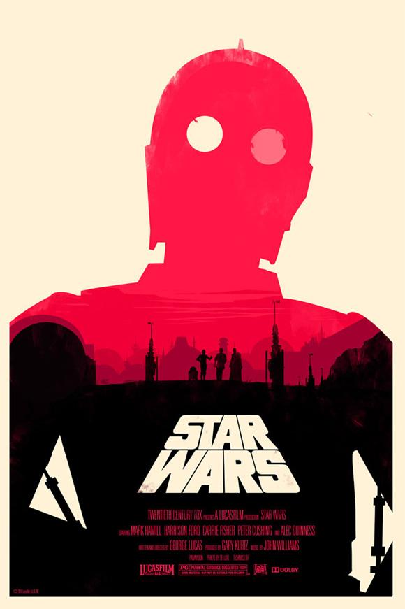 Olly Moss Star Wars