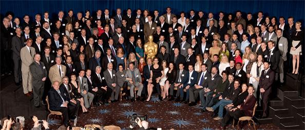Oscar Nominees 2011 Class Photo