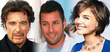 Al Pacino, Adam Sandler, Katie Holmes