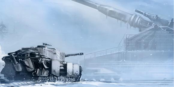 Weta's Panzer 88 Concept Art