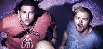 Simon Pegg & Nick Frost in Paul
