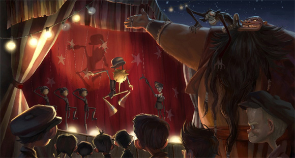 Pinocchio Production Art 1