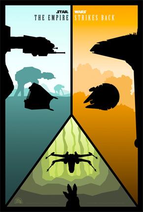 Rabalais' Empire Strikes Back Poster