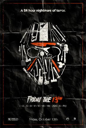 Adam Rabalais' Friday the 13th Poster