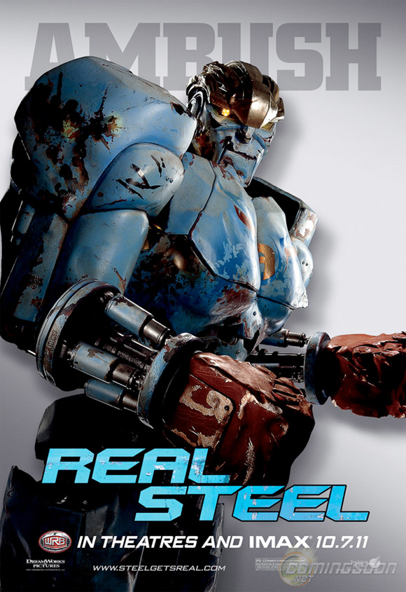 Real Steel - Ambush Poster