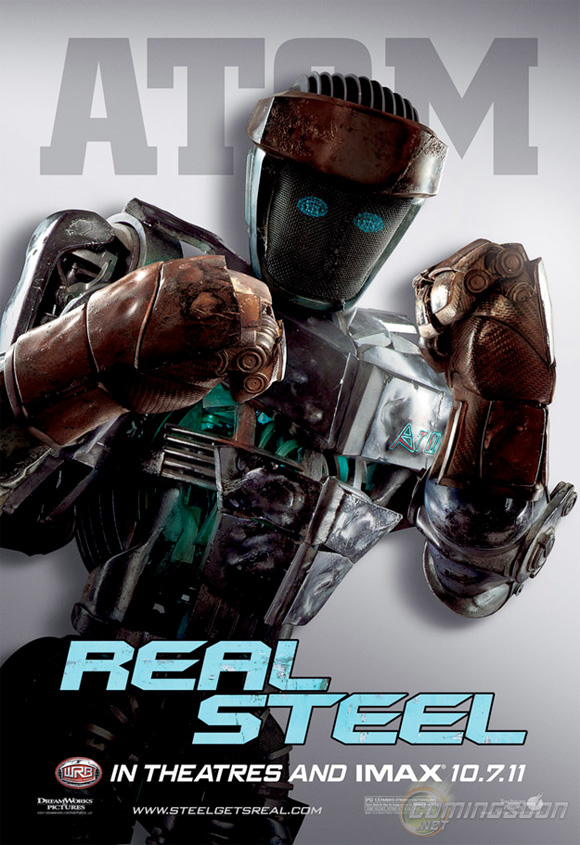 Real Steel - Atom Poster