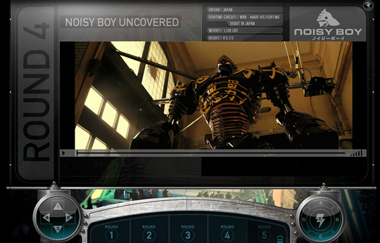 Real Steel - World Robot Boxing League