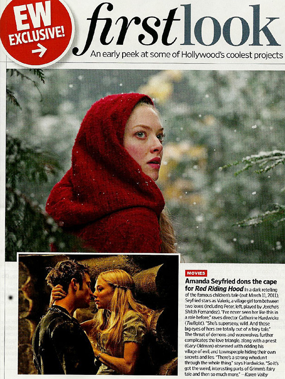 Red Riding Hood First Look - Entertainment Weekly