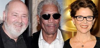 Rob Reiner, Morgan Freeman, Annette Bening