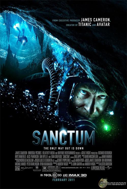James Cameron's Sanctum Poster